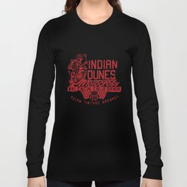 New Vintage Style Indian Dunes Motocross Mx Motorcycle T-Shirts Long Sleeve T-shirt