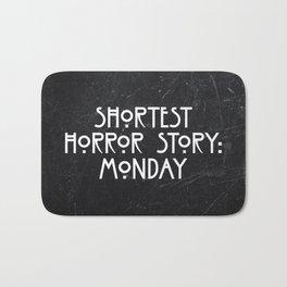 Shortest Horror Story: Monday Bath Mat