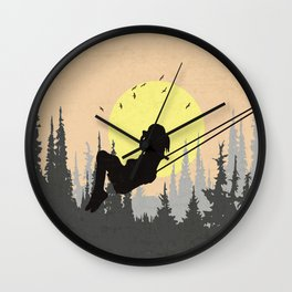 City dreamer Wall Clock