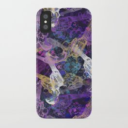 Floral Gun iPhone Case