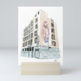 125 Manners Street Mini Art Print