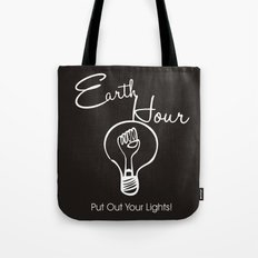 Earth Hour Tote Bag