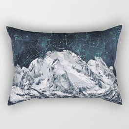 Constellations over the Mountain Rectangular Pillow