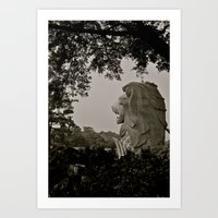 hermosa vista Art Print