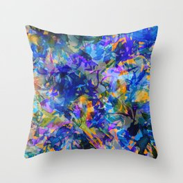 Pacific Kelp Forest Throw Pillow