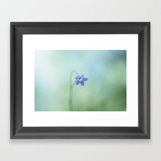 The Morning Blues Framed Art Print