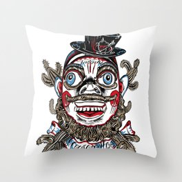 Mascaritos Tonton AL Throw Pillow