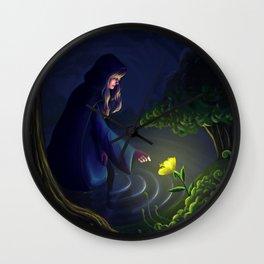 The Healer Woman Wall Clock
