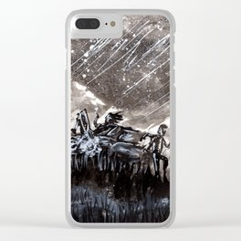 """Radioactive Dreams Clear iPhone Case"