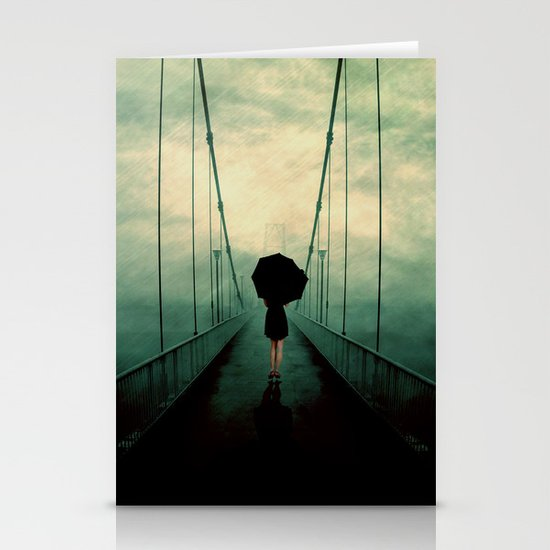 Walk away Stationery Cards