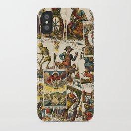 Tarot cards pattern iPhone Case