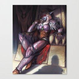 Warchief Sylvanas Canvas Print