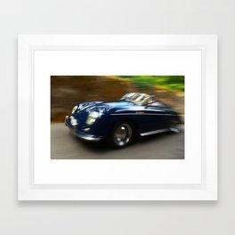 Porsche 356 Speedster Framed Art Print