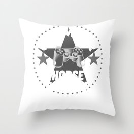 horse-breeder Gamer Gift Throw Pillow