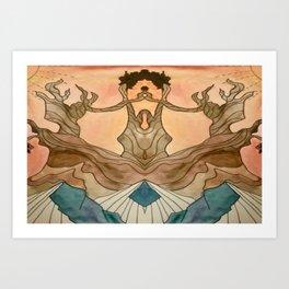Bristlecone Pine Double Vision Art Print