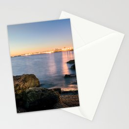 A break from routine. Tranquil spot in 'Montevideo, Uruguay' Stationery Cards