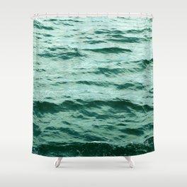 Aqua Ocean Shower Curtain