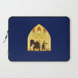 Ornstein and Smough (Dark Souls) Laptop Sleeve