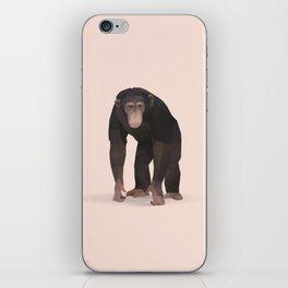 Geometric Chimpanzee - Modern Animal Art iPhone Skin