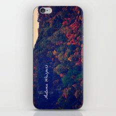 Autumn Whispers iPhone & iPod Skin