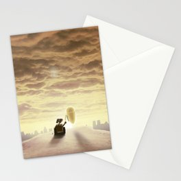 Robo-love Stationery Cards