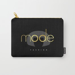 Edna Mode Fashion Dark Gold Carry-All Pouch