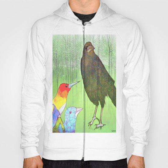 Le roi corbeau Hoody