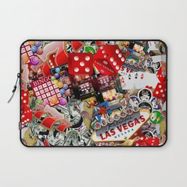 Gamblers Delight - Las Vegas Icons Laptop Sleeve