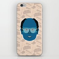 seinfeld iPhone & iPod Skins featuring George Costanza - Seinfeld by Kuki