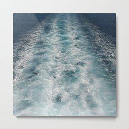 Sea Trails 3 Metal Print