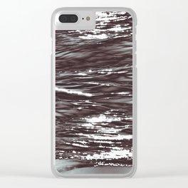 Atlantic Ocean Waves 4177 Clear iPhone Case