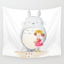 Toto ro and Mei Wall Tapestry