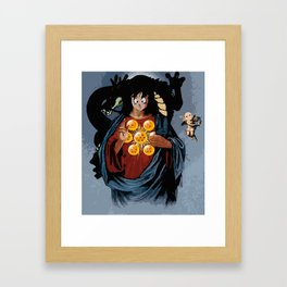 GODKU Framed Art Print