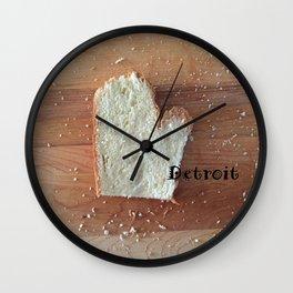 The Big D (Mitten State Series) #puremichigan Wall Clock