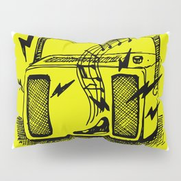 Noisy Radio Pillow Sham