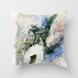 Elephant Queen Throw Pillow