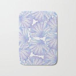 Shell Ya Later - Purple Seashell Pattern Bath Mat