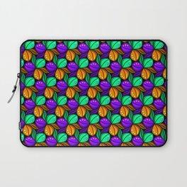 Vibrant Floral Tricolora Laptop Sleeve
