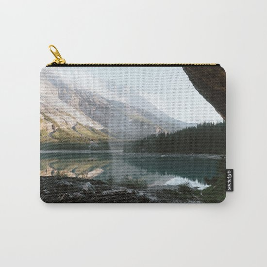 Mountain Lake Vibes III - Landscape Photography Carry-All Pouch