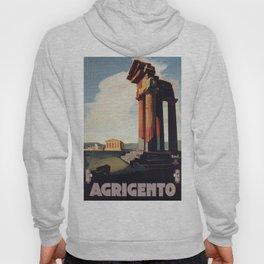 Vintage 1920s Agrigento Italian travel ad Hoody