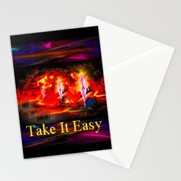 Heavenly apparition  - Take It Easy Stationery Cards