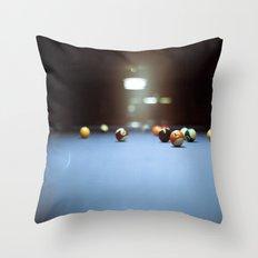 Billard Throw Pillow