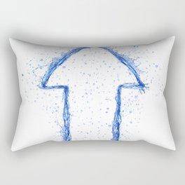 Water Arrow Rectangular Pillow