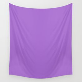 Rich lavender - solid color Wall Tapestry