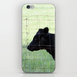 Fencing Cow iPhone Skin