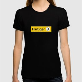 Frutiger arrow | W&L007 T-shirt