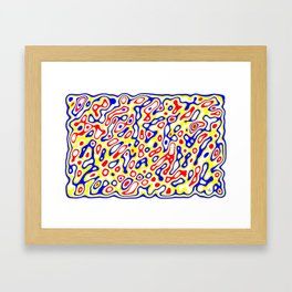Ex nihilo #11 Framed Art Print