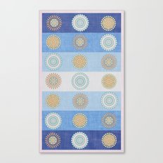 Swedish Flowers Canvas Print