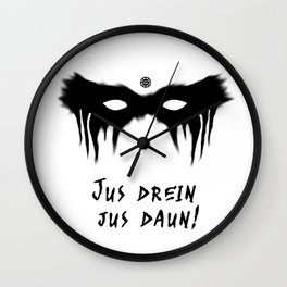 Blood Must Have Blood (Trigedasleng) Wall Clock