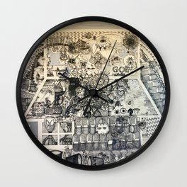 Goin Somewhere Wall Clock